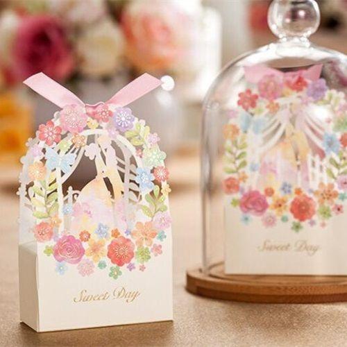 Caja de favor para boda modelo SPRING