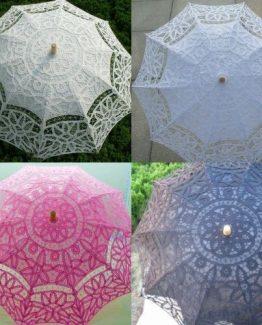 Sombrilla de encaje varios colores