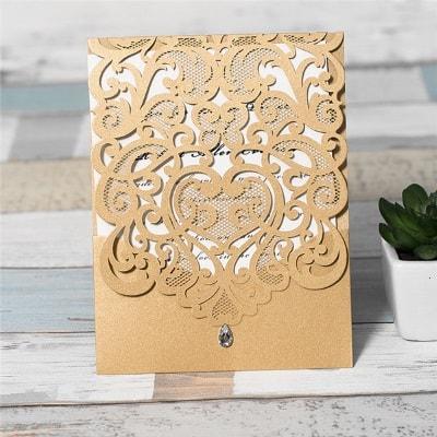invitacion de boda modelo ceremony color dorado nacarado2
